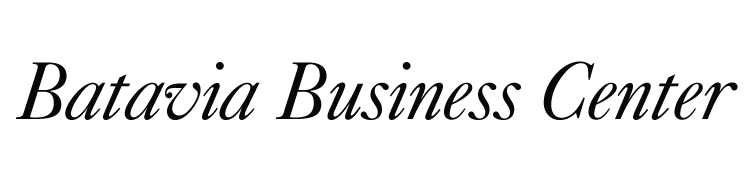 Batavia Business Center logo